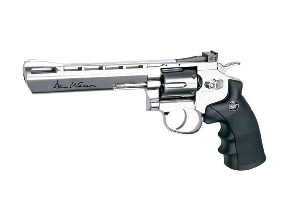 Bilde av Dan Wesson Revolver 6 Chrome - 4.5mm BB