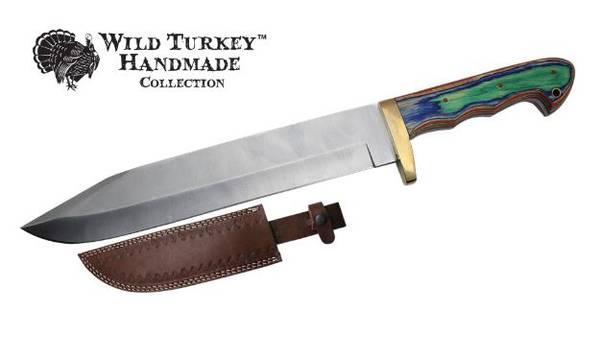 Bilde av WT - Håndlaget Western Style Bowie kniv med